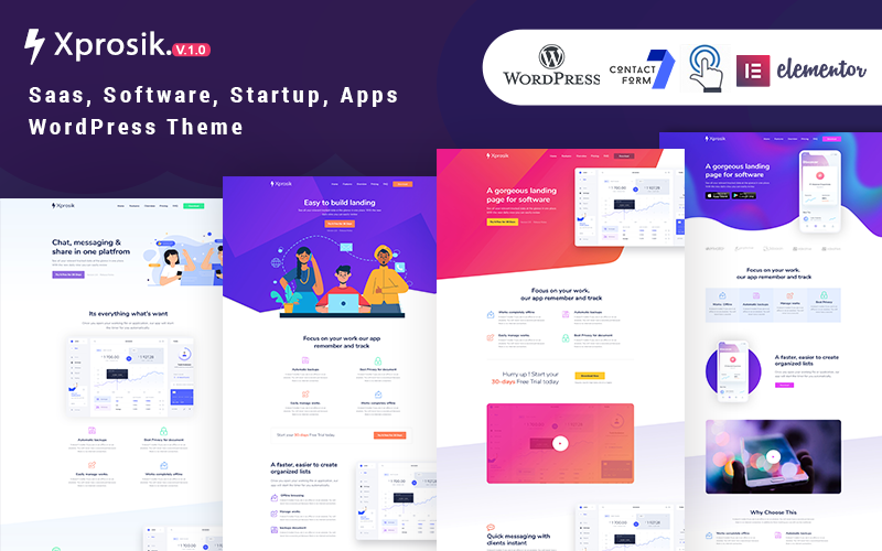 Xprosik WordPress Theme 107577